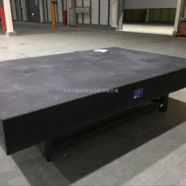 大理石测量平台2.5米*2.5米*300mm 苏州六鑫岩免费上门安装调试