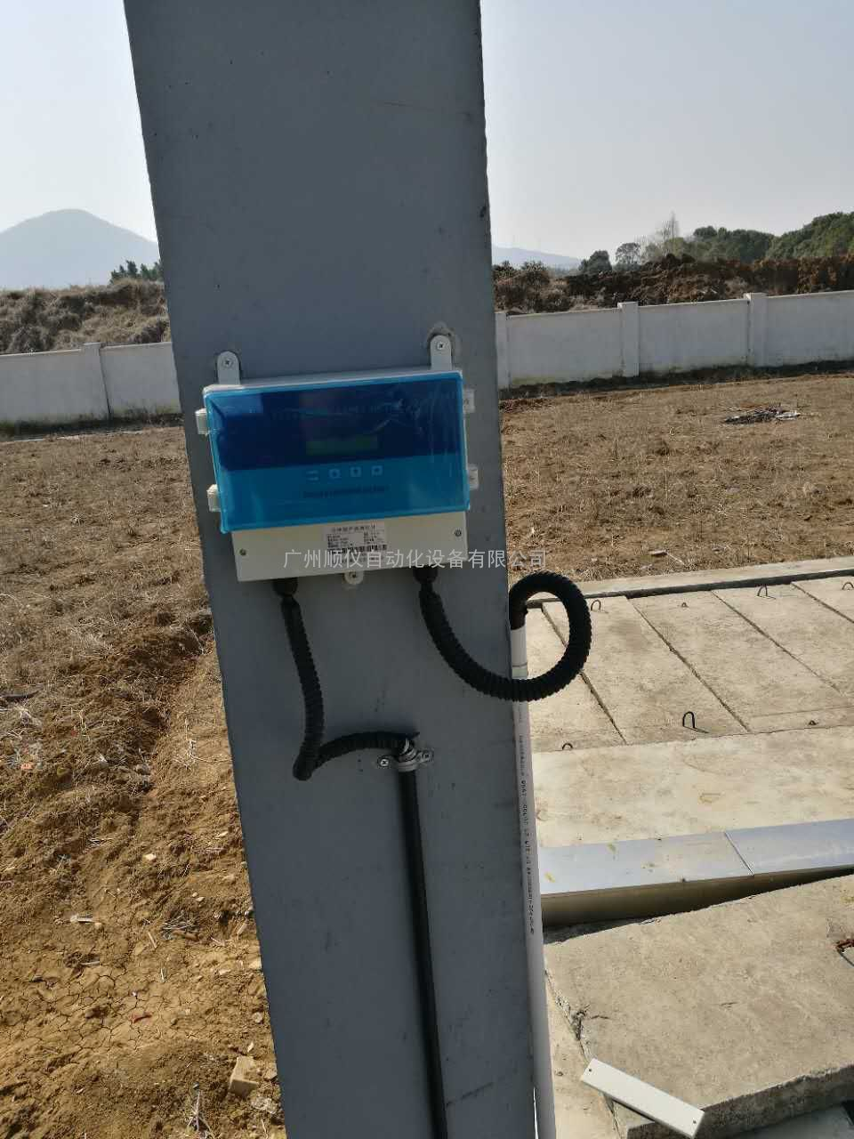 湛江农田专用超声波明渠流量计、水利灌溉明渠流量计