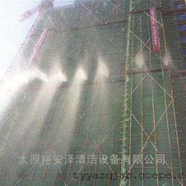 天津建筑工地围挡喷淋、塔吊喷淋系统、天津工地楼层外架喷雾