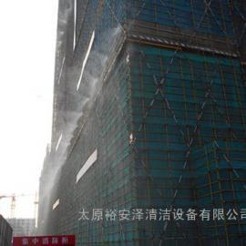 天津工地围挡喷淋系统、全自动塔吊喷淋、天津工地外层喷雾降尘