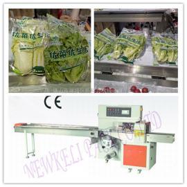生菜包装机 超市生鲜有机生菜自动包装机