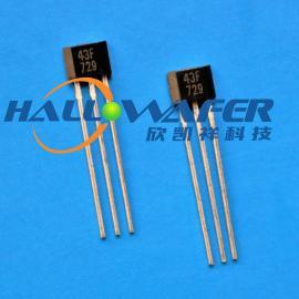 高温单极性霍尔传感器 高温型磁感应开关DH43F