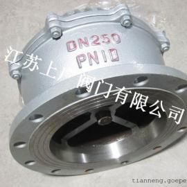 碳钢法兰底阀H42H-10C