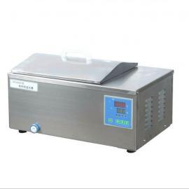 上海一恒 不锈钢电加热恒温水浴箱 DK-8AD 实验室数显控温水槽
