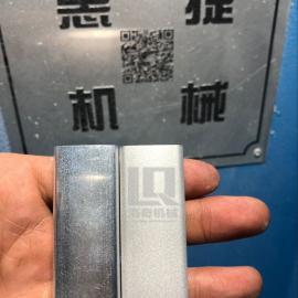 铝制品喷砂自动机 小型铝制品批量自动喷砂机