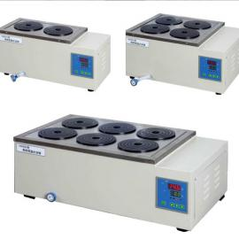 上海一恒 数显电热恒温水浴锅 不锈钢内胆双列八孔水浴箱 HWS-28
