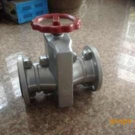 管夹阀GJ41X-6铝合金/铸钢/白口铁法兰机动管夹阀吹气管夹阀
