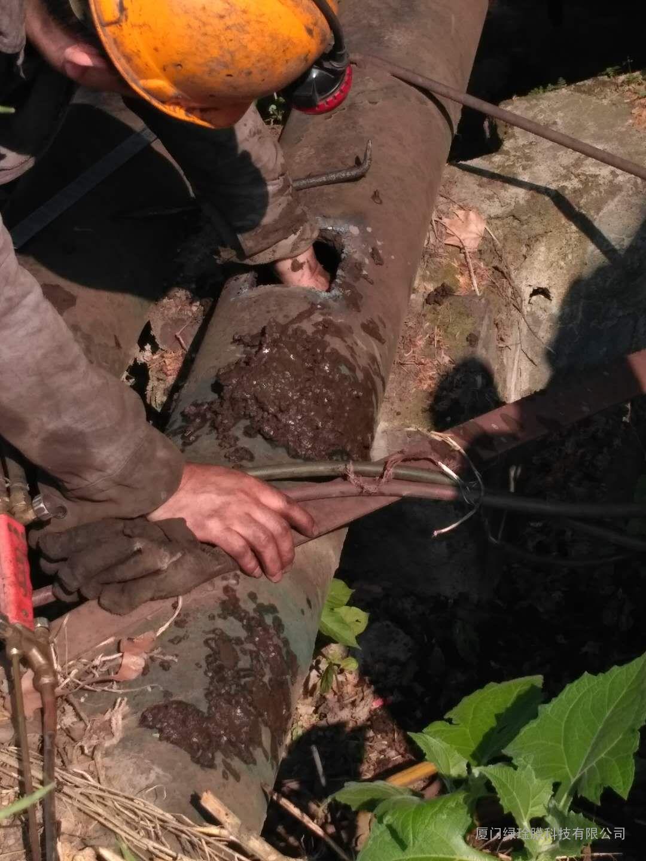 煤矿排水管道在线除垢