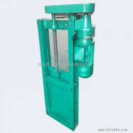 新疆电动插板阀 开关型电启动方形插板阀 方型插板刀形闸阀厂家