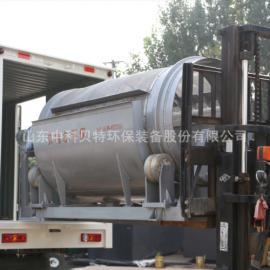 养殖场污泥处理设备 中科贝特转筒式格栅 微滤机成套设备