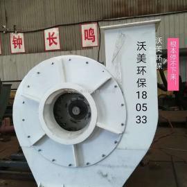热力推荐9-28型塑料风机|PVC风机|耐腐蚀耐酸碱风机