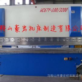 陕西液压折弯机/西安100/3200小型折弯机