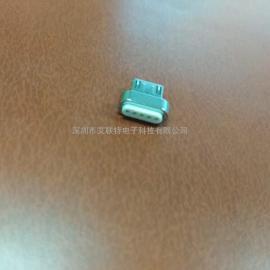 Micro磁吸公头 安卓5P-磁吸公头(迈克)自吸瞬吸B TYPE公头