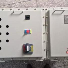 BXK58就地防爆控制箱IIBIIC防爆按钮开关箱户外壁挂式IP65防爆箱
