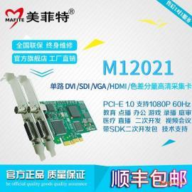 美菲特M12021高清SDI/HDMI/DVI/VGA/YPBPR视频采集卡