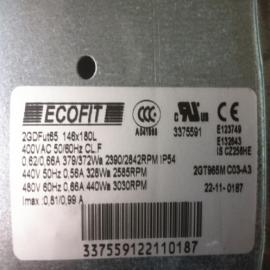 国外ECOFIT风机2GDFUT65 146*180L 400V 50/60HZ