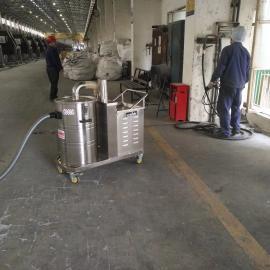 电子车间设备配套强力吸尘器 车间380V吸铁屑铁渣吸尘机