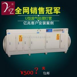 塑料厂车间废气处理设备UV光氧等离子一体机光解化废气处理设备