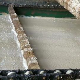 【视频】苏州某污水处理厂使用森纳斯切削液破乳剂