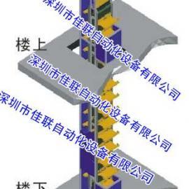 厨房传菜机2层运输垂直传菜升降机