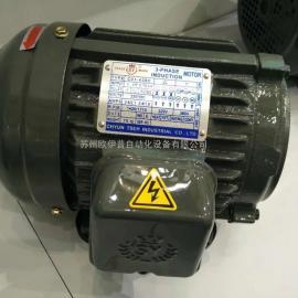 台湾群策CHYUN TSEH品牌C03-43B0,3HP-4P台湾群力电机,SY电机