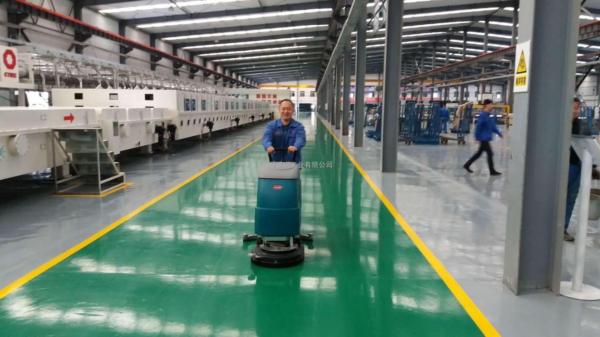威德尔waidr/全自动擦洗一体机 车间地面清洁用手推式图片