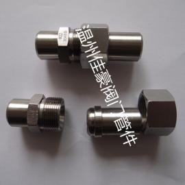 佳豪牌1/2NPT-BW14 304白口铁球锥面硬密封对焊式纵贯活起始