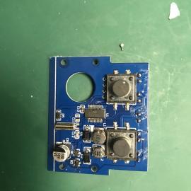 户外防水20图插地草坪灯单片机IC驱动方案开发PCBA