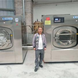 筹化宾馆酒店洗衣房设备有哪些 全自动宾馆洗衣机烘干机价格