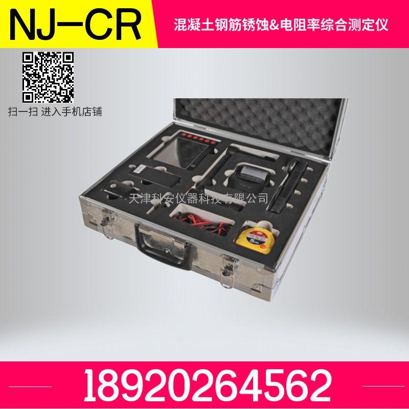 NJ-CR混凝土钢筋锈蚀&电阻率综合测定仪