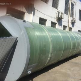 地埋式污水提升泵站生产厂家GRP材质寿命50年