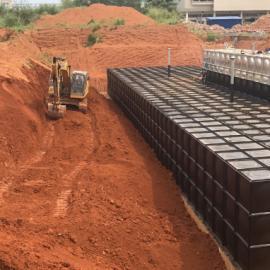 地埋式消防恒压给水设备(地埋式箱泵一体化)