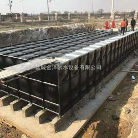 地埋式箱泵一体化消防水池