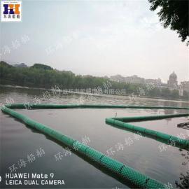 普洱水上浮式拦污排电站500*750浮体厂家直销