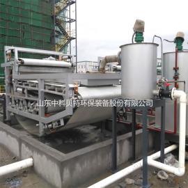 石材厂污泥脱水机 中科贝特带式污泥浓缩过滤一体机 处理效果佳