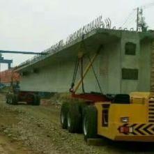 韩起云南项目工地180吨架桥机