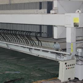 铸铁手动压紧板框压滤机