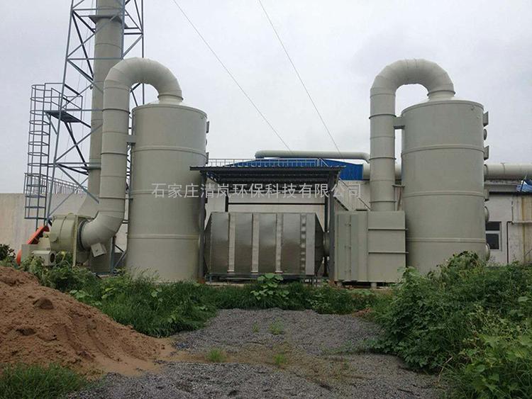 硫化氢废气处理设备酸雾净化塔喷淋塔氨吹脱塔脱硫塔环保设备