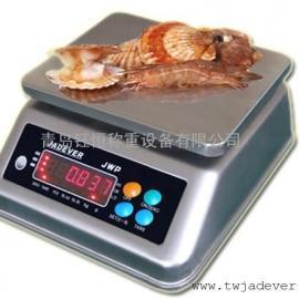 钰恒不锈钢防水秤工业电子防水称食品化工厂专用3kg电子秤