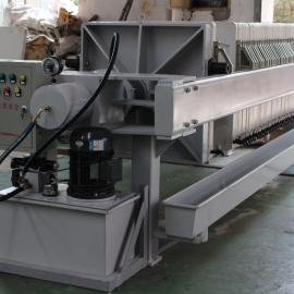 零售上海液压压紧板框压滤机、液压压紧板框式压滤机