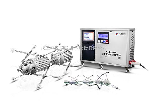 便携式光固化管道修复系统