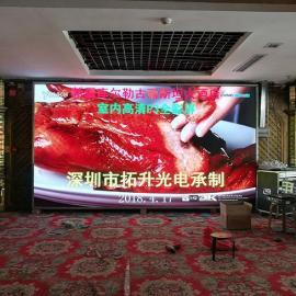 在酒店宴会厅安装一块p3LED电子屏要多少钱价格
