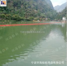 电站挂网挡垃圾浮体拦截水上漂浮物用浮体六盘水哪里有?
