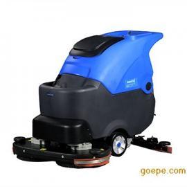 河南手推式双刷洗地机,湖南车间用擦地机,陕西大型自动洗地机
