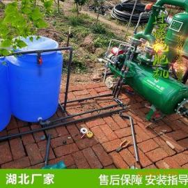 湖北水肥一体化方案设计 武汉温室育苗双过滤施肥机价格实惠手动