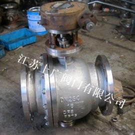 Q347F-16P不锈钢固定式蜗轮球阀