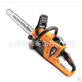 传峰58V无刷充电式链锯、大容量无绳锂电锯木家用电动伐木锯