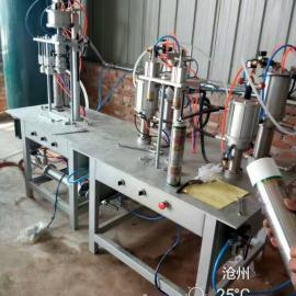 XD鑫达牌家庭作坊式小型创业灌装聚氨酯泡沫胶填缝剂罐装机器