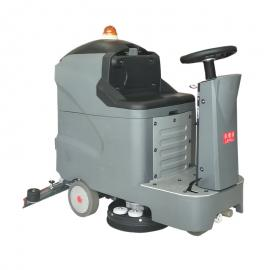 大型驾驶洗地机电动水洗擦地拖干机乐普洁L85BT70全自动洗地机