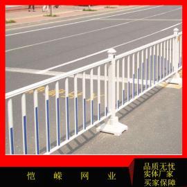 人行道防撞护栏 马路市政栏杆 公路倒u型京式护栏